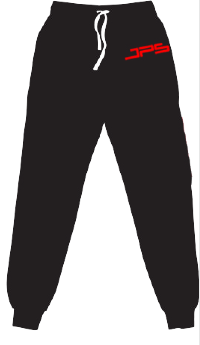 Black Tracksuit Pants