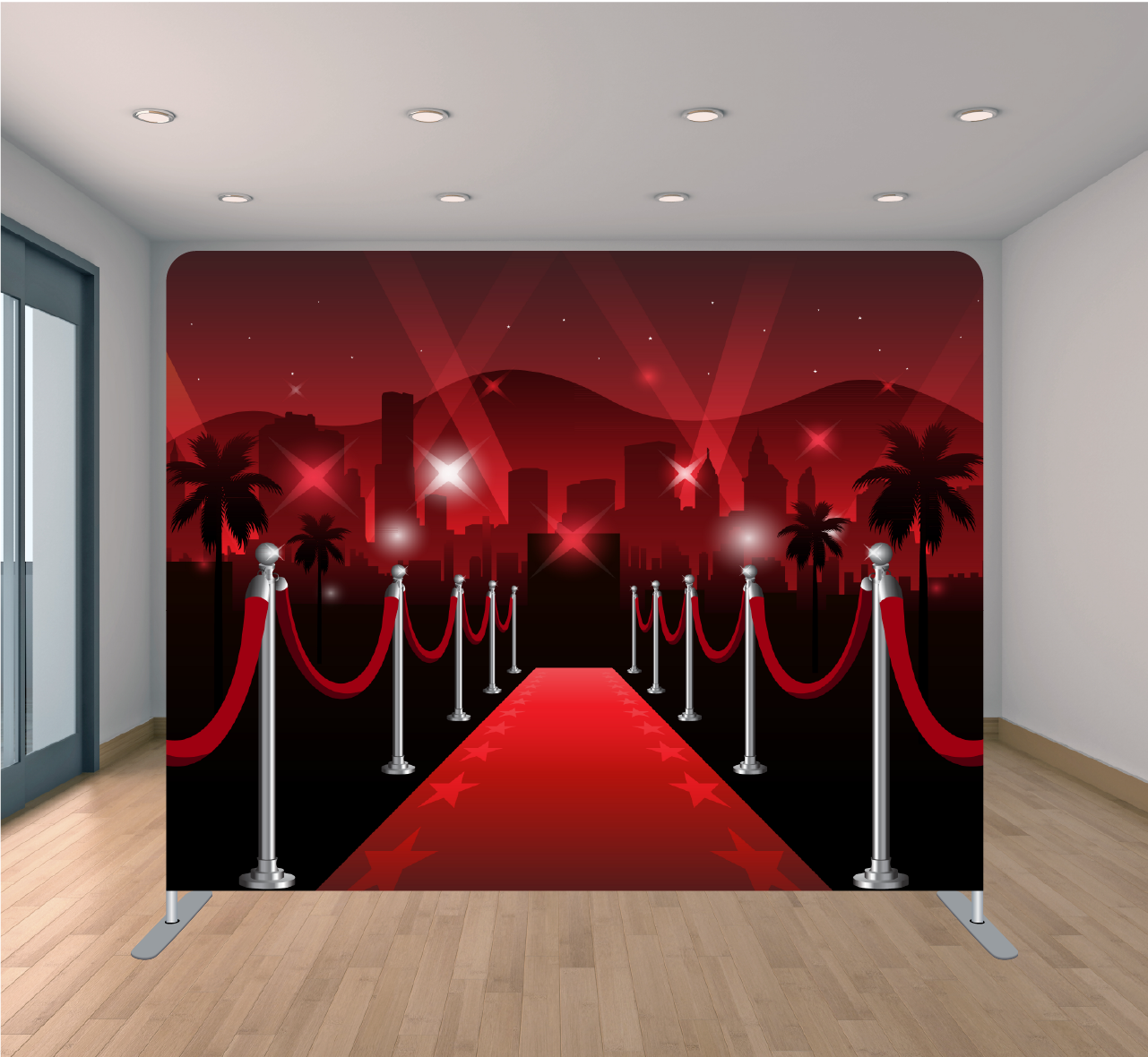 8X8 Pillowcase Tension Backdrop- Hollywood