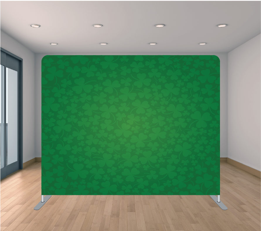 8X8ft Pillowcase Tension Backdrop- St. Patrick 1