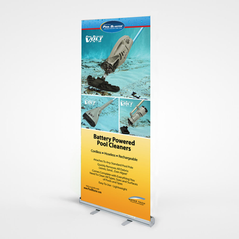 Floor Retractable Pull Up  Roll Up Display Banner Stand