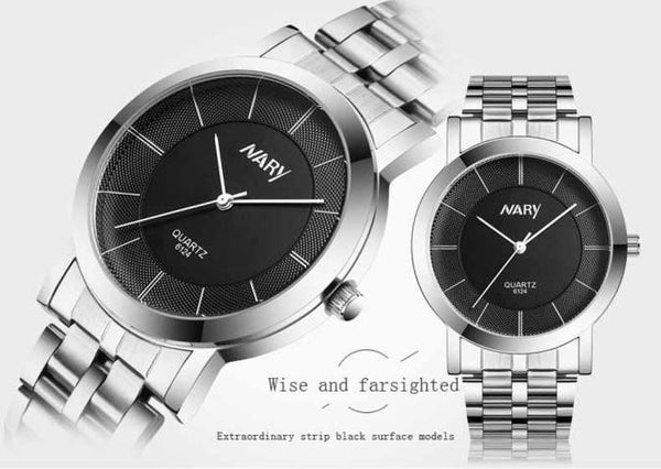 1 pair Men And Women Watch