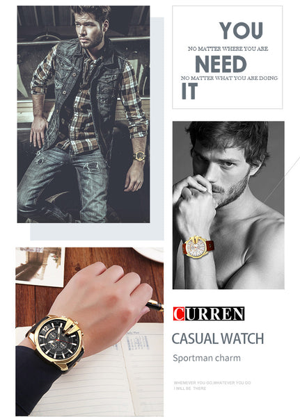 CURREN Stylish Watches For Man