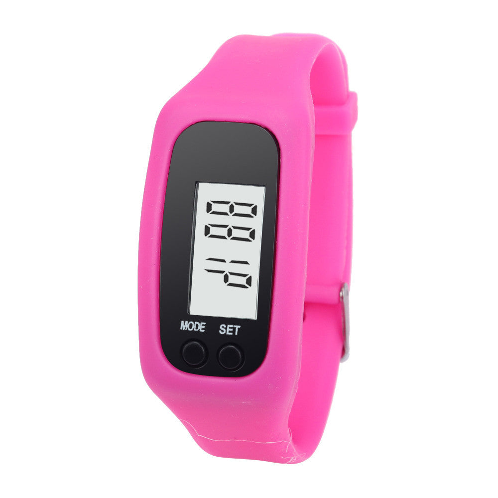 Digital Walking Distance Counter Run Step Watch