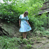 "CLEARANCE! Upcycled Dress ""Roll Away the Dew"""
