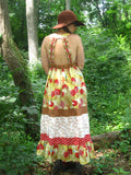 "Handmade Dress ""The Birds and the Trees"""