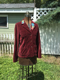 "CLEARANCE! Upcycled Blazer ""Birds of a Feather"""