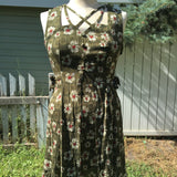 "Upcycled Dress ""Daisy Dream"""
