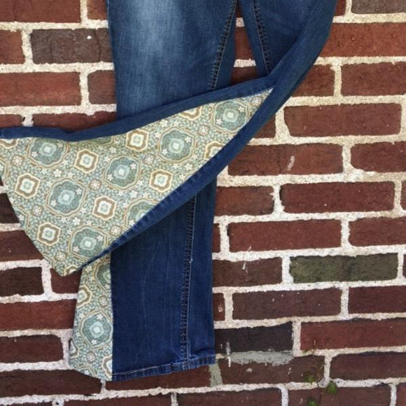 Upcycled Bell Bottoms