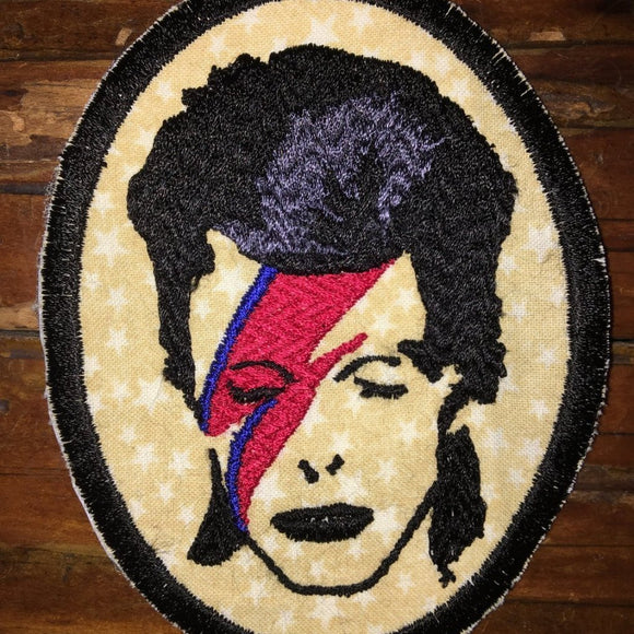 Starman handmade David Bowie patch