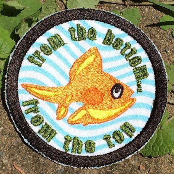 Theme from the Bottom Handmade Phish Patch