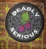 Beets Are Deadly Serious handmade Tom Robbins patch
