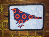 Mockingbird handmade Phish iron on patch