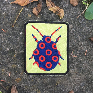 Bug handmade Phish iron on patch