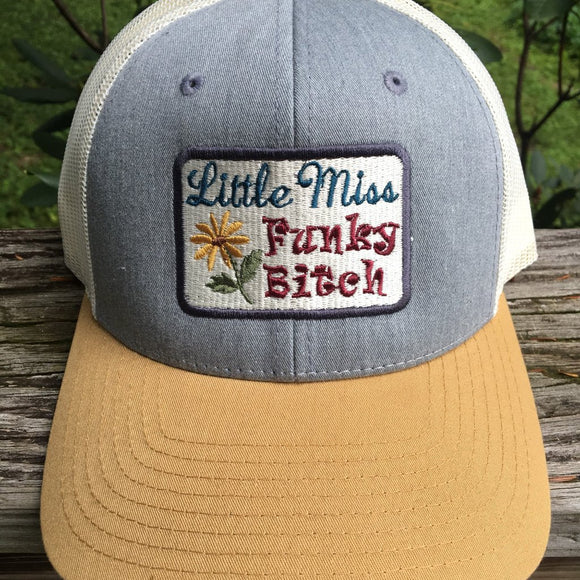 Little Miss Funky Bitch Phish trucker hat