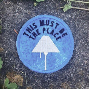 This Must Be The Place handmade Talking Heads patch
