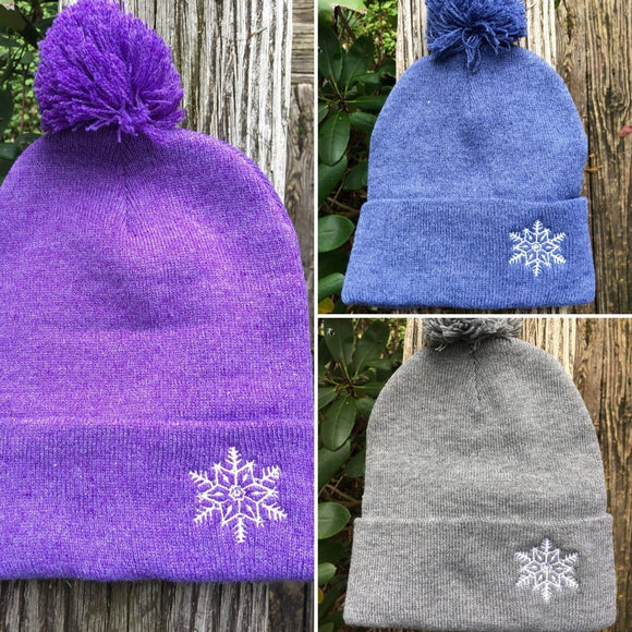 Let it Snow little snowflake beanie