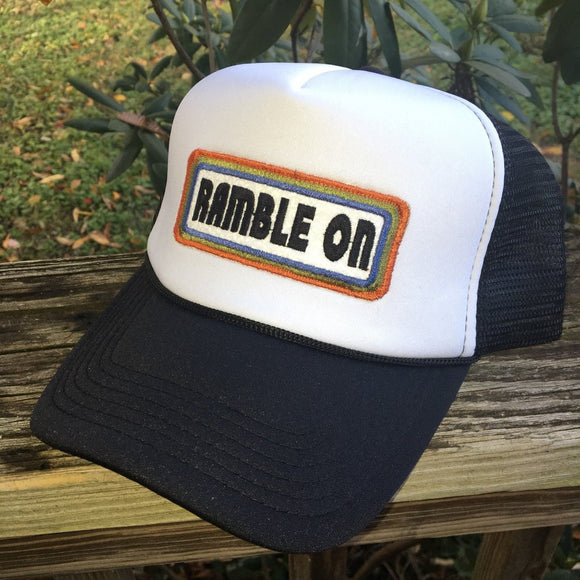 Ramble On foam trucker hat