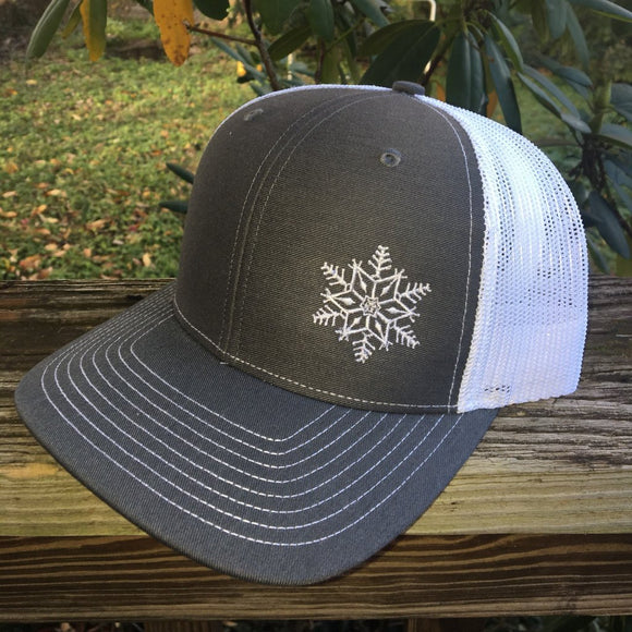 Let it Snow trucker hat.