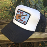 Be Here to Love Me foam trucker hat