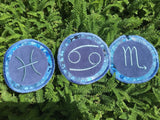 CLEARANCE!  Handmade Zodiac sign iron on patch