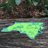 High Country North Carolina handmade iron on patch.