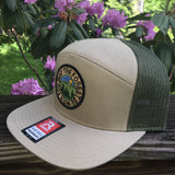May the Forest Be With You Hybrid 7-Panel Hat