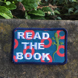 Read The Book handmade iron-on Phish patch