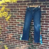 "SALE!! Upcycled Tie Dye Bell Bottoms ""Twist Around"""
