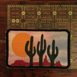 Desert Sky Handmade iron on Patch