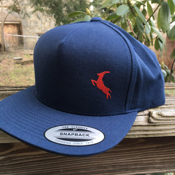 Navy Antelope Phish hat