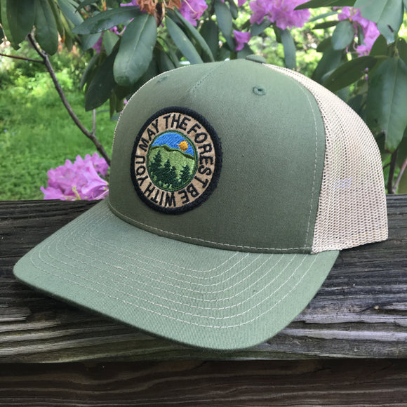 May the Forest Be With You 5-Panel Trucker Hat