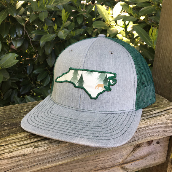 North Carolina Nature trucker hat