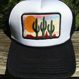 Desert Sky Foam Trucker Hat