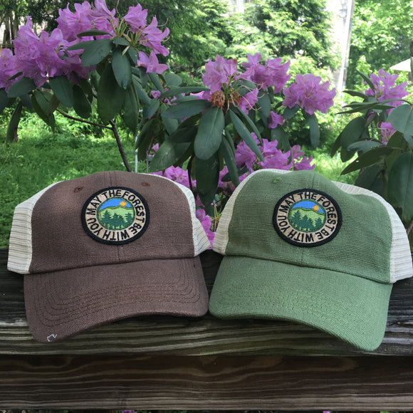 SALE!  May the Forest Be With You Hemp Hat