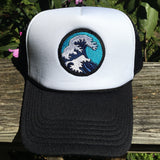 The Great Wave Trucker Hat - AVAILABLE IN 2 COLORS