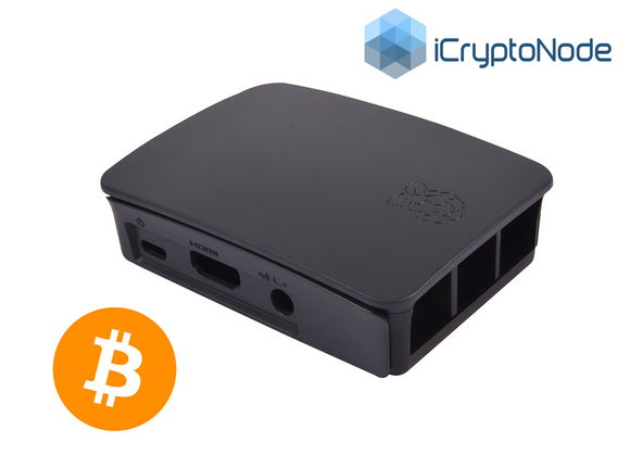 Bitcoin iCryptoNode Raspberry Pi and 1 TB External Hard Drive / SD Card Combo