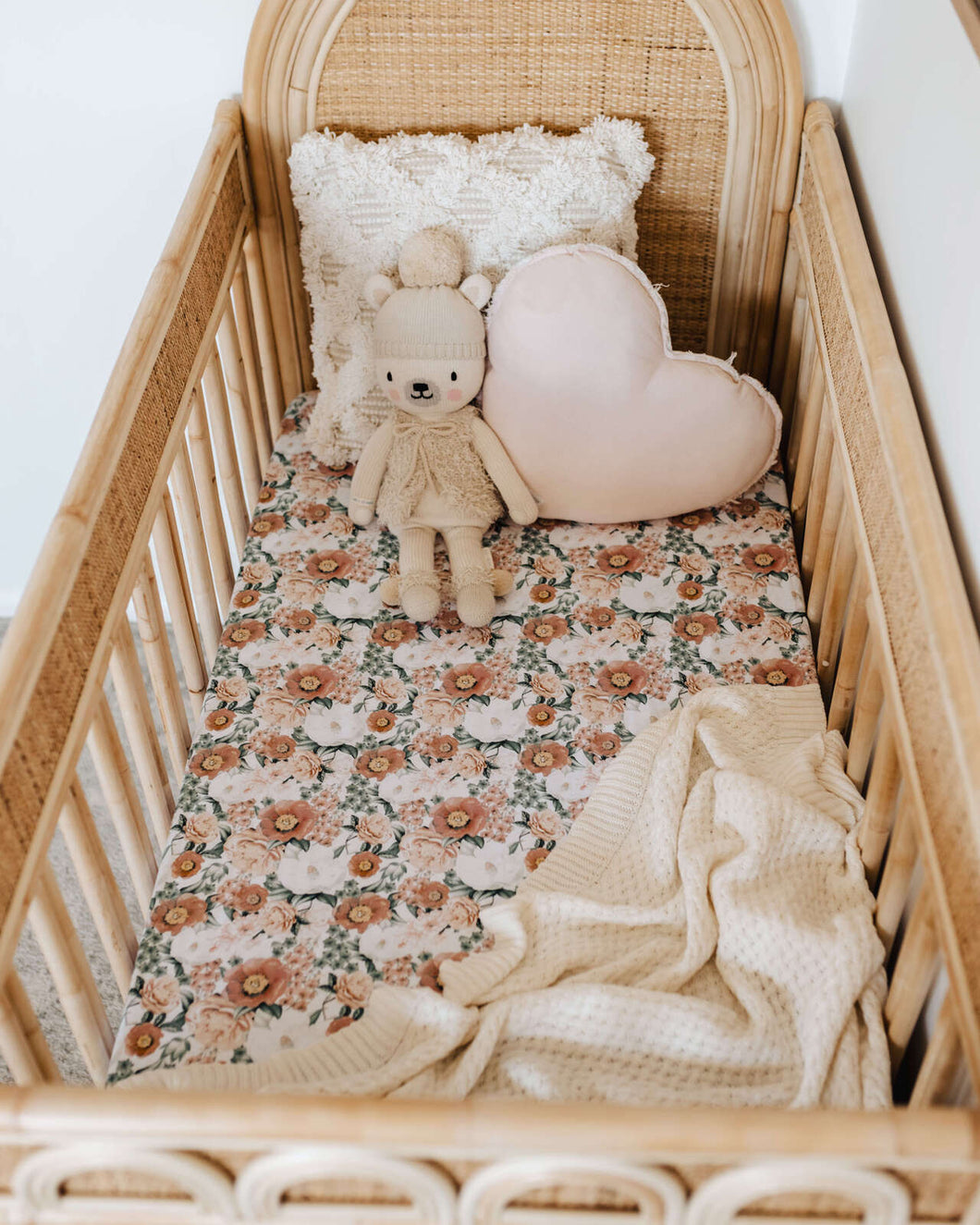 Florence | Fitted Cot Sheet