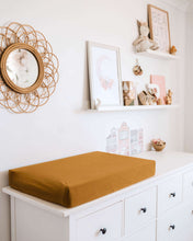 Load image into Gallery viewer, Bronze | Bassinet Sheet / Change Pad Cover