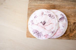 Breast Pad - Alaska Flowers