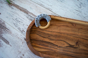 Crochet Wooden Teether
