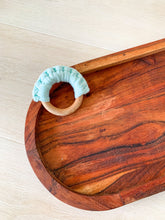 Load image into Gallery viewer, Crochet Wooden Teether