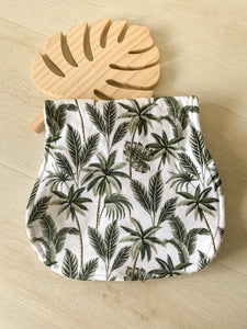 Burp Cloth - Tropical Palms