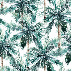 Burp Cloth - Palms