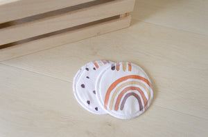 Breast Pad - Rainbow Drops