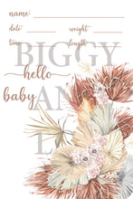 Load image into Gallery viewer, New Baby Announcement Cards