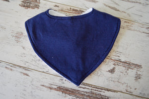 Towel Bib - Navy