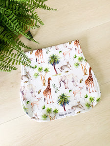 Burp Cloth - African Animals