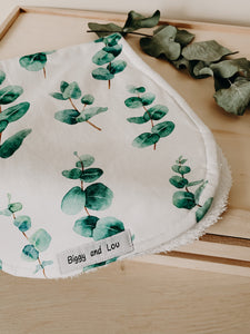 Burp Cloth - Eucalyptus