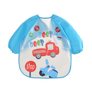 Waterproof Long Sleeve Bib Apron