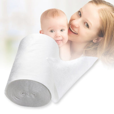 Biodegradable Disposable Bamboo Diaper Liners 100 Sheets